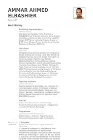 Sample Resume For Teaching by Marketing Representative Resume Samples Visualcv Resume Samples