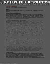 Profile On Resume Sample by 100 Examples Of Professional Profile On Resume More Cv