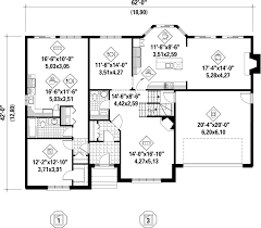 traditional style house plan 4 beds 3 00 baths 3493 sq ft plan