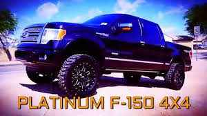 f150 ford trucks for sale 4x4 11 ford f 150 platinum crew 4x4 lifted truck for sale
