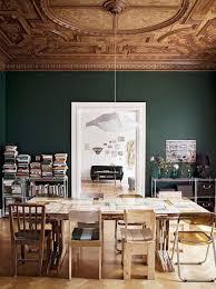 29 best interiors dark green walls images on pinterest dark