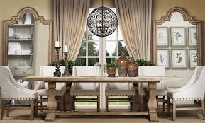 transitional dining room sets trestle table dining room