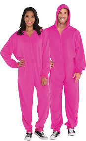 pink footie pajamas costume for adults city