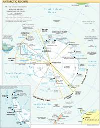 map of antarctic stations south pole aerial views and site plans