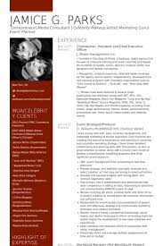 Singer Resume Example by Chief Executive Officer Resume Samples Visualcv Resume Samples