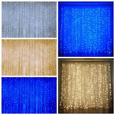Wedding Backdrop Ebay 20ft X 10ft Led Lights Organza Backdrop Curtain Photobooth Wedding