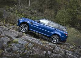 orange range rover svr range rover sport svr gripping acceleration land rover lakeridge