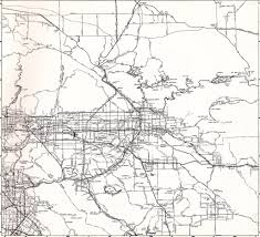 Metro Los Angeles Map by Thomas Bros Map Circa 1968 Los Angeles Metro Freeway Map Flickr