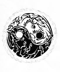 tribal yin and yang by elorieppc on deviantart