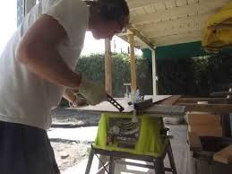 10 In Table Saw Testing Out The Ryobi 10 In 15 Amp Table Saw Youtube