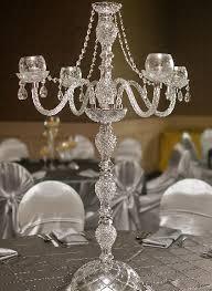 Crystal Chandelier Centerpiece Wedding Centerpiece Rentals Michigan Crystal Candelabras U0026 More