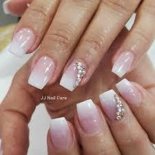 orange u0026 white stiletto nails by vivian yelp