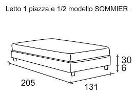 Divano Letto 1 Piazza E Mezzo Ikea by Sommier Letto Da Una Piazza E Mezzo Imbottito In Ecopelle