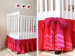 Bed Skirt For Crib Baby Crib Skirt A Basic One Make It And It