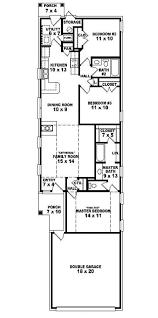 baby nursery townhouse plans narrow lot lot narrow plan house