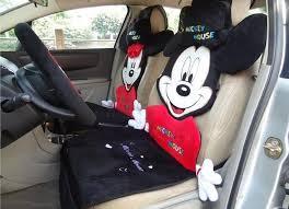 coussin si e auto 12 pcs nouvelle voiture intérieur coussin de bande dessinée mickey
