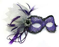 masquerade masks with feathers purple lace mask for women masquerade express
