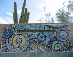decoration ideas top notch blue ceramic mosaic moroccan tile wall creative inspiration of designing tile wall fountain for outdoor exterior sweet inspiration of designing tile