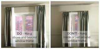 how high to hang curtains how high to hang curtains how high to hang curtains awesome it s