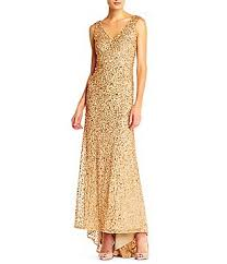 gold mother of the bride dresses u0026 gowns dillards