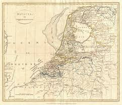 Map Of Netherlands File 1799 Clement Cruttwell Map Of Holland Or The Netherlands