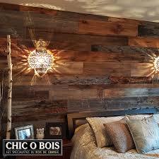 mur de chambre en bois réalisations de mur en bois de grange