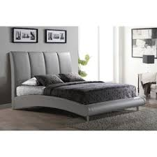 Gray Platform Bed Grey Upholstered Platform Bed Wayfair