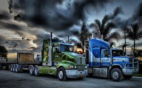 big kenworth trucks big truck wallpaper