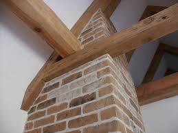 Wohnzimmer Ziegeloptik Wandgestaltung Riemchen Putz Strukturputz Gipsmalerei Super