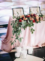 sweetheart table decor gold details rolling hill farm wedding table with