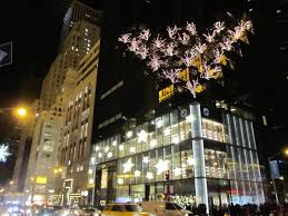 Trump Tower Ny Fifth Avenue On Christmas Eve New York City