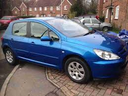 blue peugeot for sale peugeot 2006 206 verve 1 4 hdi blue damaged repaired salvage car