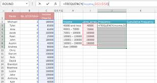 how to create a table in excel 2016 frequency chart excel relative frequency chart in excel