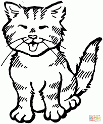 halloween cats coloring pages halloween cat coloring page free coloring pages of