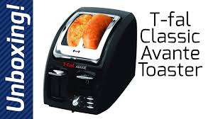 Toaster Reviews 2014 T Fal Classic Avante 2 Slice Toaster Unboxing Youtube