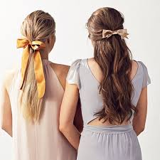 hair ribbon 10 fresh ways to use bows throughout your wedding martha stewart