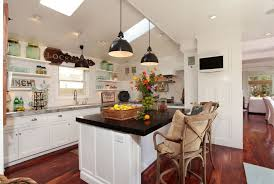 tv in kitchen ideas kitchen ceiling lighting ideas kitchen eclectic with kitchen shelves