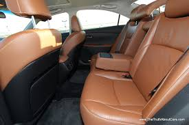 2007 lexus es 350 reliability reviews 2012 lexus es350 interior rear seats photography courtesy of