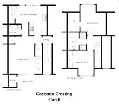 Cascade Floor Plan Cascade Crossing Rentals Portland Or Apartments Com