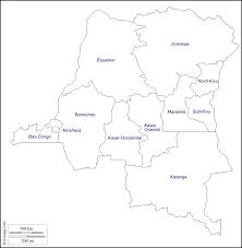 Republic Of Congo Map Democratic Republic Of The Congo Free Map Free Blank Map Free
