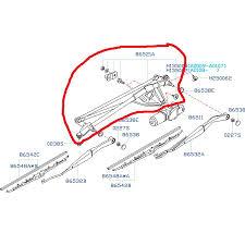 subaru wrx engine diagram subaru wiper linkage 2004 2007 impreza wrx sti fastwrx com