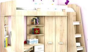 armoire bureau intégré lit superpose avec armoire lit mezzanine avec bureau integre