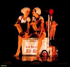 kif wedding band mimes clowns québec city canada les soeurs kif kif funly