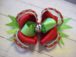 shopping u0026 classifieds iso christmas hair bow with bells bow