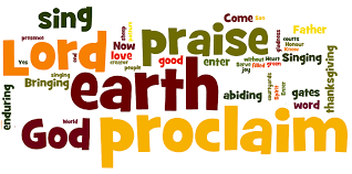 come into his presence with thanksgiving in your heart lyrics all the earth proclaim the lord godsongs net