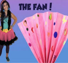 how to make a paper fan how to make a paper fan crafts for kids video by teatimewithtayla
