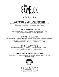 the sawbuck cdm coffee cocktail party u2014 the sawbuck