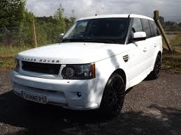 land rover hse white used 2010 land rover range rover sport tdv6 hse for sale in rye