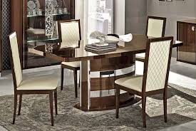 italian dining room sets roma modern italian dining table collection