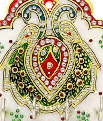 indian culture handicraft multicolour marble handicraft showpiece